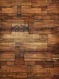 Fondo di struttura del blocco di legno Fotografia Stock Libera da Diritti