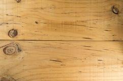 Fondo di struttura del bordo di legno nella vista superiore Fotografie Stock