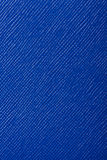 Fondo di struttura del cuoio impresso del blu Fotografie Stock