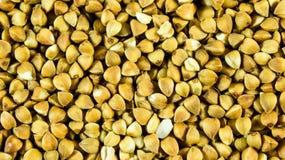 Fondo di struttura del grano saraceno Fotografia Stock
