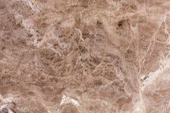 Fondo di struttura del marmo di Brown Fotografia Stock