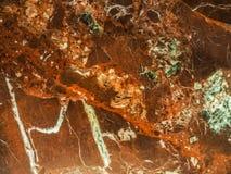 Fondo di struttura del marmo di Brown Fotografia Stock Libera da Diritti