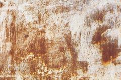 Fondo di struttura del metallo della ruggine Fotografia Stock Libera da Diritti