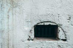 Fondo di struttura del muro di cemento Vecchio sistema di ventilazione Fotografia Stock Libera da Diritti