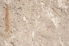 Fondo di struttura del muro di cemento di Brown Fotografia Stock Libera da Diritti