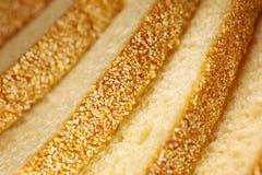 Fondo di struttura del pane Fotografie Stock