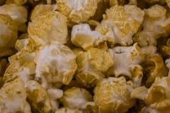 Fondo di struttura del popcorn fotografie stock libere da diritti