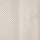 Fondo di struttura del punto del metallo bianco Fotografie Stock