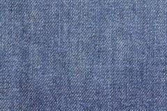 Fondo di struttura del tessuto dei jeans del denim per progettazione Fotografia Stock Libera da Diritti