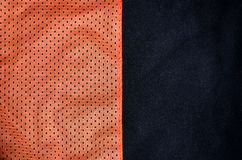 Fondo di struttura del tessuto dell'abbigliamento di sport Vista superiore della superficie di nylon del tessuto del panno del po fotografia stock