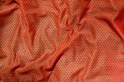 Fondo di struttura del tessuto dell'abbigliamento di sport Vista superiore della superficie di nylon del tessuto del panno del po immagini stock