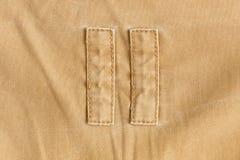 Fondo di struttura del tessuto di Brown, materiale del tessuto Immagini Stock Libere da Diritti