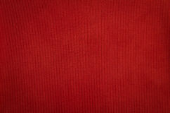Fondo di struttura del tessuto rosso del tessuto Fotografie Stock