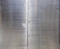 Fondo di struttura dell'acciaio inossidabile Fotografia Stock
