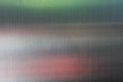 Fondo di struttura dell'acciaio inossidabile con la riflessione Fotografie Stock Libere da Diritti