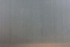 Fondo di struttura dell'acciaio inossidabile con la riflessione Fotografie Stock