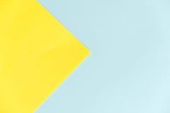 Fondo di struttura della carta di colore pastello Fondo di carta geometrico astratto colori di tendenza Variopinto di carta molle Fotografie Stock Libere da Diritti