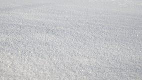 Fondo di struttura della neve con lo spazio della copia Fotografia Stock Libera da Diritti