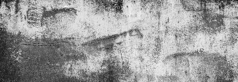 Fondo di struttura della parete del metallo bianco con i graffi Fotografia Stock