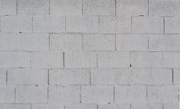 Fondo di struttura della parete dipinto Grey del blocco in calcestruzzo immagini stock libere da diritti