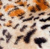 Fondo di struttura della pelle della tigre del leopardo Immagini Stock Libere da Diritti