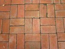 Fondo di struttura della pietra del mattone rosso Fotografia Stock