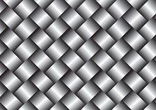 Fondo di struttura della superficie del tessuto del metallo illustrazione di stock