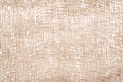 Fondo di struttura della tela da imballaggio defocused Immagine Stock