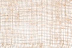 Fondo di struttura della tela da imballaggio defocused Fotografia Stock