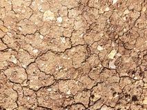Fondo di struttura della terra asciutta Immagine Stock Libera da Diritti