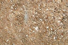 Fondo di struttura delle pareti di pietra di Brown Immagine Stock