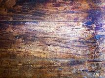 Fondo di struttura di Brown legnoso Fotografia Stock