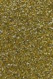 Fondo di struttura di scintillio dell'oro Immagini Stock