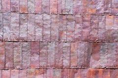 Fondo di struttura di piastra metallica d'annata sporca immagine stock