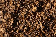 Fondo di superficie del suolo Fotografia Stock