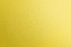 Fondo di superficie dell'oro di colore del metallo Fotografie Stock Libere da Diritti