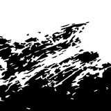 Fondo di superficie graffiato di vettore illustrazione di stock