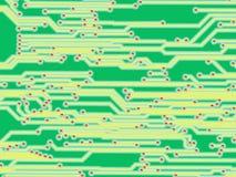 FONDO DI TECNOLOGIA DI INDUSTRIA ELETTRONICA DI ALTA TECNOLOGIA Fotografie Stock Libere da Diritti