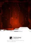 fondo di tecnologia digitale e di ingegneria di Ciao-tecnologia Vettore illustrazione vettoriale