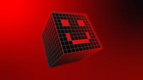 Fondo di tecnologie del cubo illustrazione vettoriale