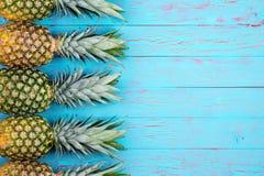 Fondo di tema della frutta tropicale Fotografie Stock