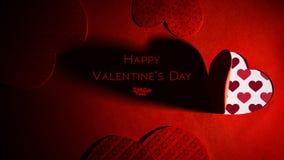 Fondo di tema di giorno del ` s del biglietto di S. Valentino della st Immagine Stock Libera da Diritti