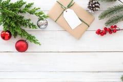Fondo di tema di Natale Immagini Stock