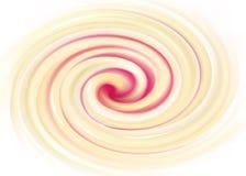 Fondo di turbine di vettore Crema bianca della latteria con la gelatina di frutta illustrazione di stock