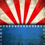 Fondo di U.S.A. Fotografie Stock Libere da Diritti