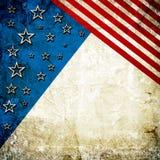 Fondo di U.S.A. Fotografie Stock