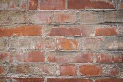 Fondo di un muro di mattoni Fotografia Stock Libera da Diritti
