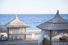 Fondo di una spiaggia Immagine Stock