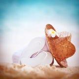 Fondo di vacanze estive Fotografia Stock
