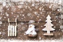 Fondo di vacanze invernali Fotografia Stock Libera da Diritti